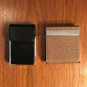 Business card case, cigarette case